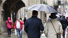 Las lluvias vuelven con fuerza a Galicia, Cataluña y Baleares