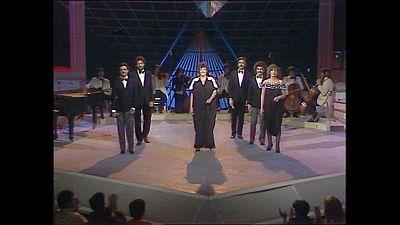 """Cachitos de Hierro y Cromo - Mocedades, """"Amor de hombre"""" (Aplauso, 1982)"""