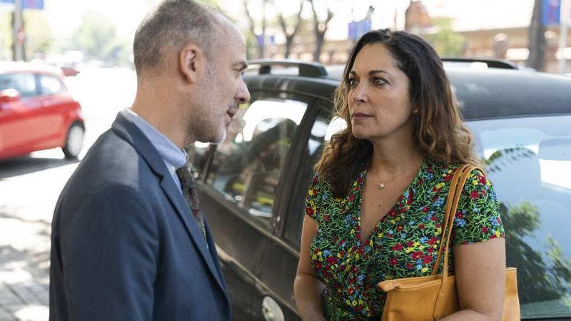 """Estoy vivo - Laura: """"Me recuerdas tanto a mi marido que por eso me enamoré de ti"""""""