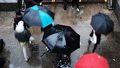 Precipitaciones persistentes y localmente fuertes en Galicia, especialmente en el oeste
