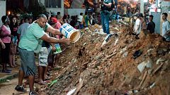 Al menos diez muertos y once heridos en un deslizamiento de tierras en Río de Janeiro