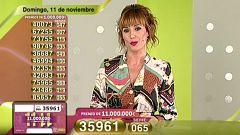 Sorteo ONCE - 11/11/18