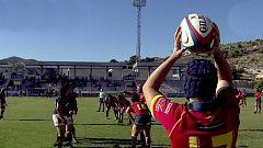Rugby - Encuentro Internacional Selección Femenina: España - Hong Kong