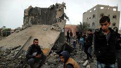 Un nuevo enfrentamiento en la Franja de Gaza deja siete palestinos y un soldado israelí muertos