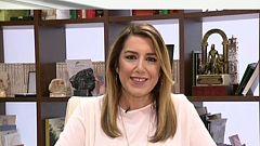 Los desayunos de TVE - Susana Díaz, presidenta de la Junta de Andalucía