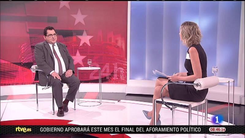 Entrevista con el secretario de Estado Marco Aguiriano