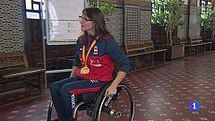 Isabel Fernández se cuelga el oro en la modalidad de kata en silla de ruedas