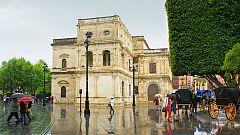 Precipitaciones localmente fuertes y/o persistentes en Andalucía