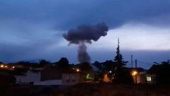Tres muertos en la explosión de una pirotecnia en Guadix, Granada