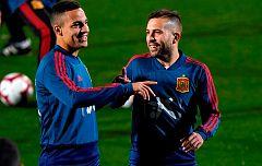 La selección española arranca con Jordi Alba y siete sub-21