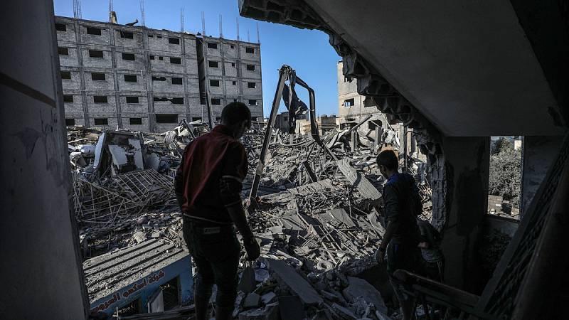 Fuego cruzado entre Israel y Hamás en Gaza