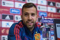 """Jordi Alba: """"No me arrepiento de nada"""""""