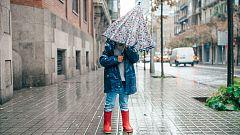 Lluvias en el área mediterránea y del Estrecho