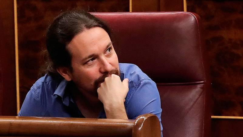Iglesias defiende la suspensión de los concejales de Madrid y reitera su apoyo a Carmena
