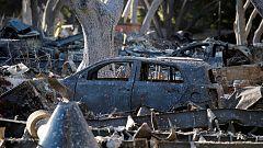 Ya son 50 los fallecidos en los incendios de California