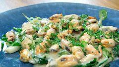Torres en la cocina - Mejillones con berros