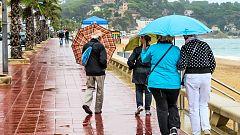 Precipitaciones en Málaga, Girona, Comunidades de Valencia y Murcia