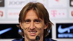 """Modric: """"No hay ninguna revancha tras el 6-0 en España"""""""