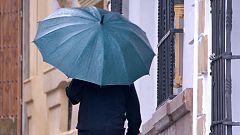 Cielos cubiertos y fuertes lluvias en el área mediterránea