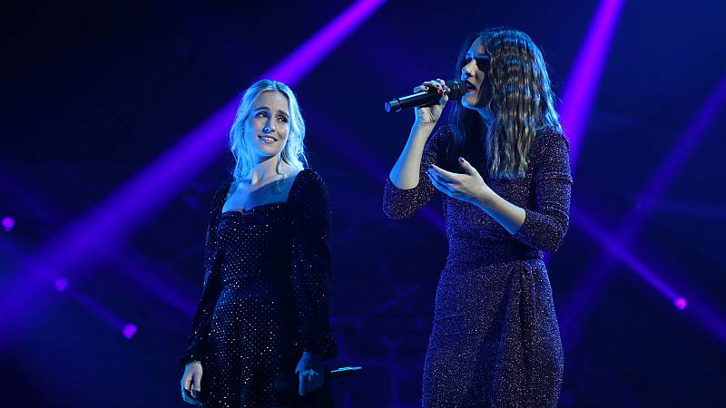 "OT 2018 - María y Sabela cantan ""I wanna hold your hand"" en la gala 8"