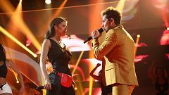 "OT 2018 - David Bisbal y Greeicy cantan ""Perdón"" en la gala 8"