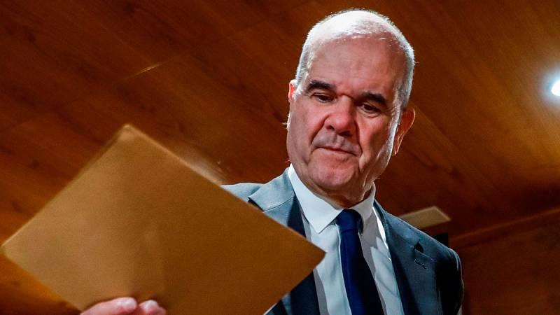 Manuel Chaves niega financición ilegal del PSOE en el Senado