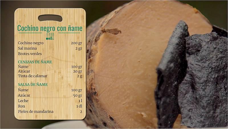 Las Rutas de Verónica - Cochinillo negro con ñame