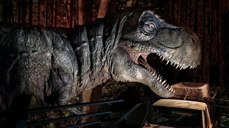 Dinosaurios casi reales en 'Jurassic World: The Exhibition', en Madrid