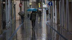 Probables precipitaciones en el área mediterránea
