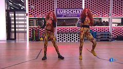 "Chat OT 2018 - Natalia y Alba Reche cantan ""Fuego"""
