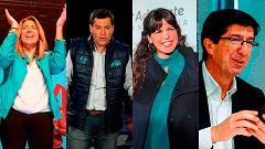 Arranca la campaña en Andalucía para las elecciones del 2 de diciembre