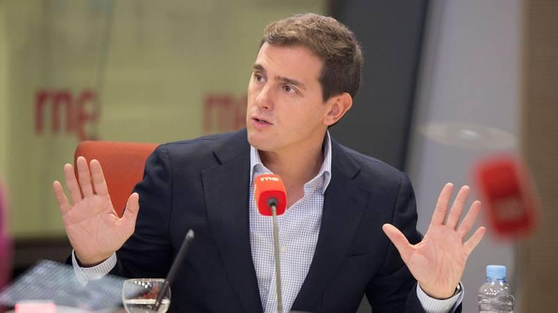 """Las mañanas de RNE - Rivera: """"Si hay un escaño más de cambio que de continuidad en Andalucía, habrá cambio"""" - Escuchar ahora"""