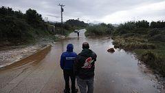LLuvias de 481 litros en las últimas 24 horas en Alzira, Valencia