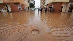 Más de 20.000 vecinos en Alzira afectados por las intensas lluvias caídadas en las últimas horas en Valencia