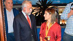 Talavera presume de Sandra Sánchez, su campeona del mundo