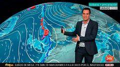 Chubascos en la Comunidad Valenciana y vientos fuertes en Canarias