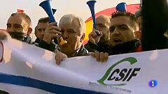 Huelga de los funcionarios de prisiones