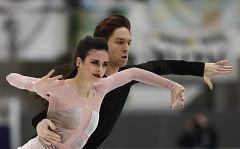 Sara Hurtado y Kirill Khaliavin logran una plata histórica en la Rostelecom Cup