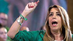 Susana Díaz reprocha a los líderes nacionales su desconocimiento del Estatuto de Andalucía