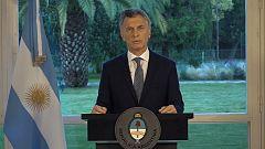 """Macri: """"Se abre una etapa de serias investigaciones para conocer la verdad"""""""