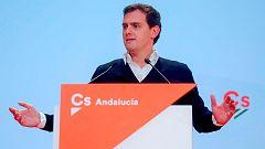 Albert Rivera pide el apoyo del PP en Andalucía