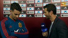 """Mario Hermoso: """"Ha sido el debut esperado"""""""