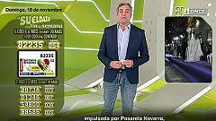 Sorteo ONCE - 18/11/18