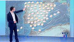 Hoy, cielos nubosos y lluvias fuertes en Comunidad Valenciana y Baleares