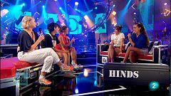 La Hora Musa - Hinds (Extras entrevista)