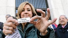 Jueces y fiscales secundan la huelga para exigir más medios y la despolitización de la Justicia