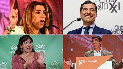 Elecciones andaluzas: los candidatos preparan el primer debate de campaña
