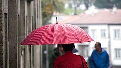 Precipitaciones fuertes o persistentes en Galicia