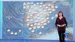 Hoy, lluvias fuertes en Galicia y descenso de temperaturas en la mitad norte