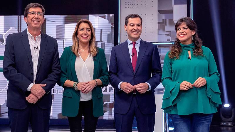 Elecciones andaluzas: La corrupción centra el primer debate